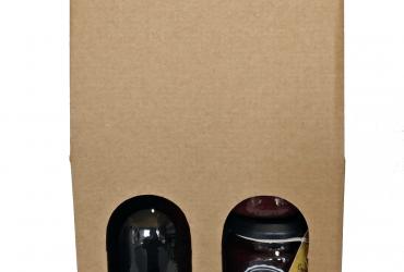 Malinovo vino v darilni embalaži buteljka 0,5l 2kom