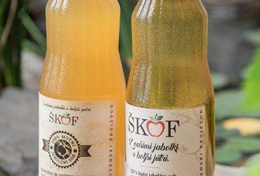 100% bistri jabolčni sok (1L)