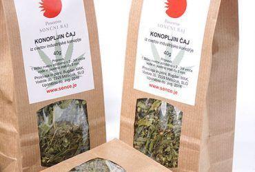 Konopljin čaj iz cvetov konoplje 40g